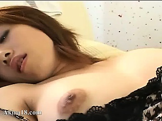 Touching plus tease of asian clit