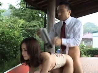 Nice rodeo above lengthy cock
