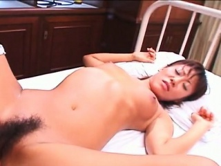 Skinny Asian nurse gets wide help his needs