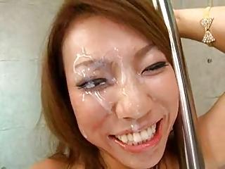 Japanese huge facial 2