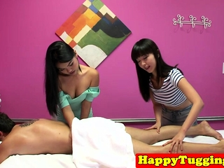 Young asian masseuses spastic clients bushwa