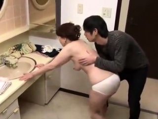 Doggystyle sweet Japanese pussy cut-offs