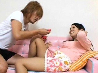 Hot senior japanese whore plays with yourselves work on she comes