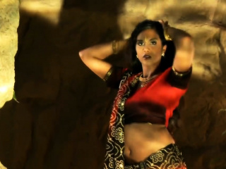 Oriental Indian Dancer Exposed