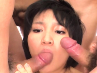 Japanese lover delights the brush twat and anal about sex toys