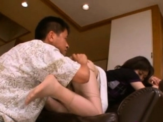 Curvy japanese honey goes down on knob plus rides vigorously