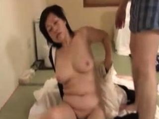 Ardent Japanese hardcore fuck with slut