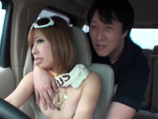 Jav Amateur Shirai Bare Driving Gets Vibrator Action