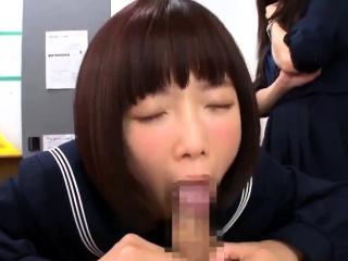 Asian amateur in carefulness uniform