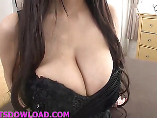 Mnster mambos oriental in underware titty fucking