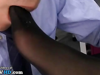 Jav female boss foot fetish obsession