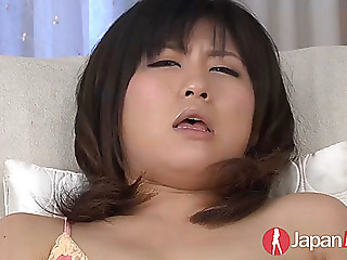 Kyoka mizusawa toys her cunt and receives fingered to biggest agonorgasmos