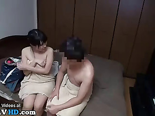 Japanese lad 1st time sex with girlfriend